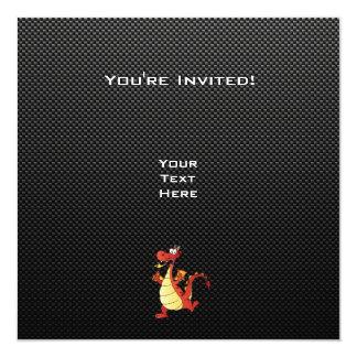 Sleek Cartoon Dragon Card