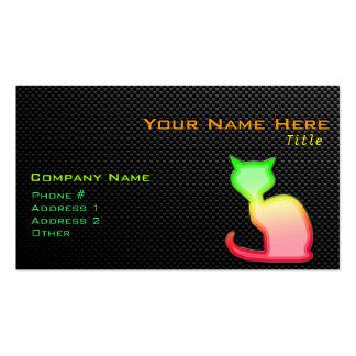 Sleek Cat Business Card Template