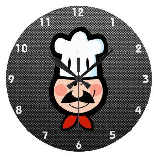 Sleek Chef Clock