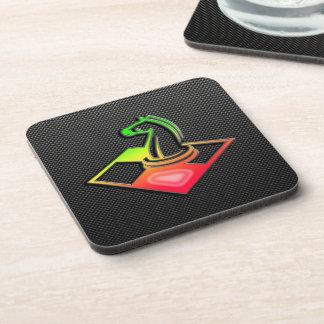 Sleek Chess Beverage Coaster