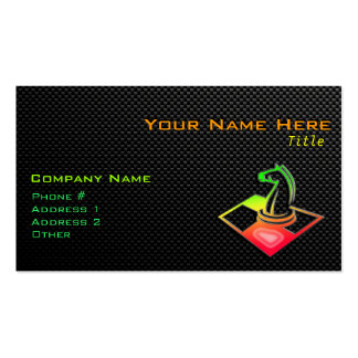 Sleek Chess Double-Sided Standard Business Cards (Pack Of 100)