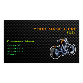 Sleek Chopper Double-Sided Standard Business Cards (Pack Of 100)