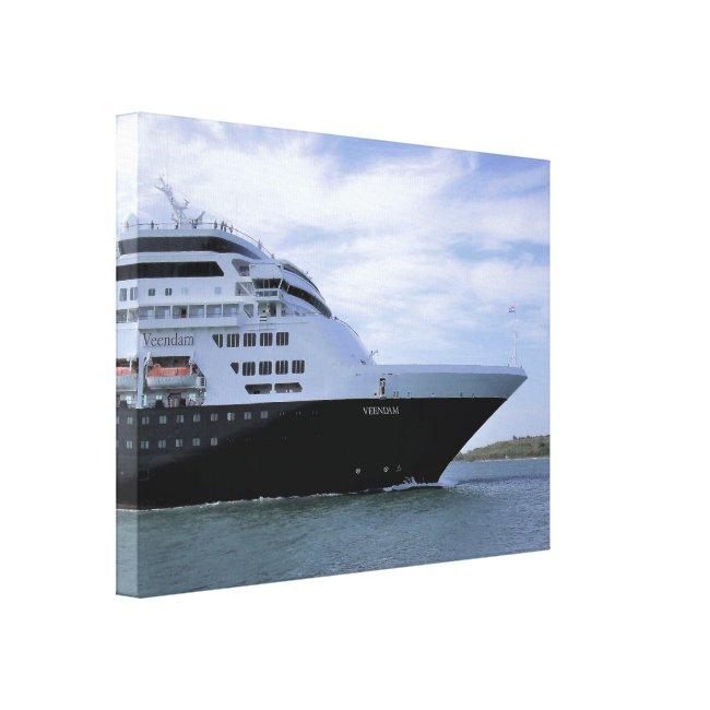 Sleek Cruise Ship Bow