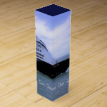 Sleek Cruise Ship Bow Custom Wine Box