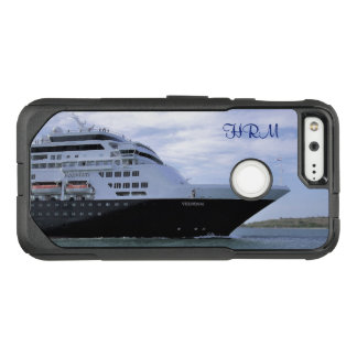 Sleek Cruise Ship Bow Monogrammed OtterBox Commuter Google Pixel Case