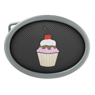 Sleek Cupcake Belt Buckle