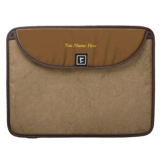 Sleek designer sleeve with the look of suede. sleeves for MacBooks