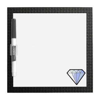 Sleek Diamond Dry Erase Board