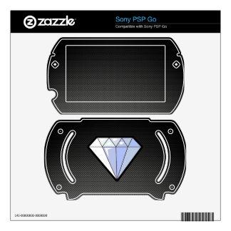 Sleek Diamond Decal For PSP Go