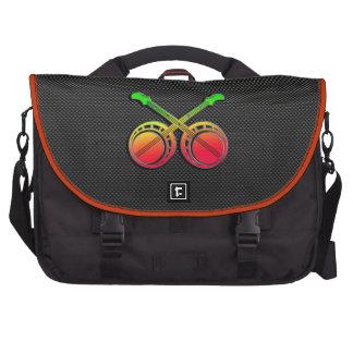 Sleek Dueling Banjos Laptop Messenger Bag