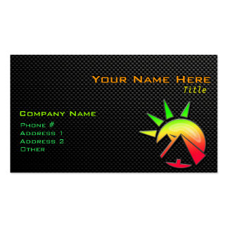 Sleek Egyptian Pyramid Double-Sided Standard Business Cards (Pack Of 100)