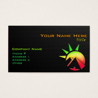 Sleek Egyptian Pyramid Business Card