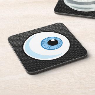 Sleek Eyeball Beverage Coasters