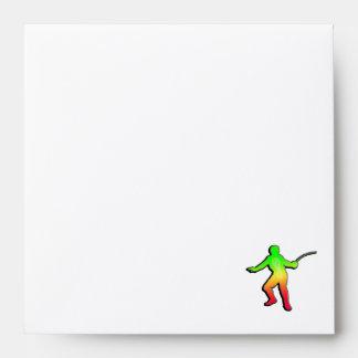 Sleek Fencing Envelopes