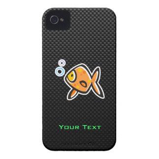 Sleek Goldfish iPhone 4 Case-Mate Cases