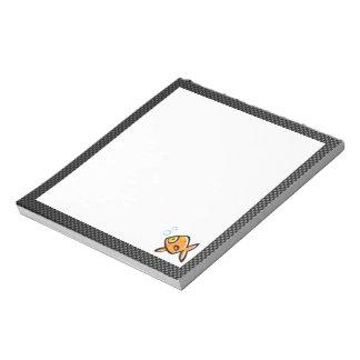 Sleek Goldfish Memo Notepad