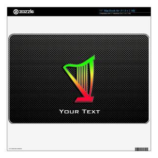 "Sleek Harp 11"" MacBook Air Skin"