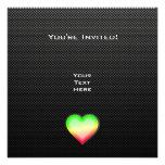 Sleek Heart Invite