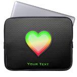 Sleek Heart Laptop Sleeves