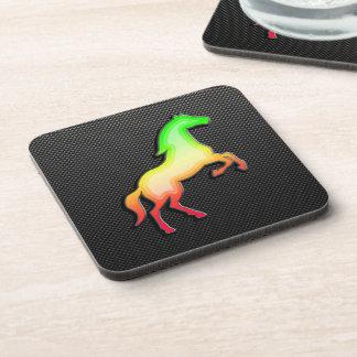 Sleek Horse Beverage Coaster