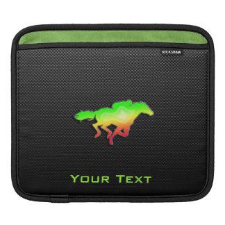 Sleek Horse Racing iPad Sleeves