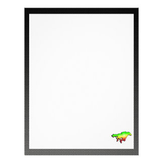 Sleek Horse Racing Letterhead