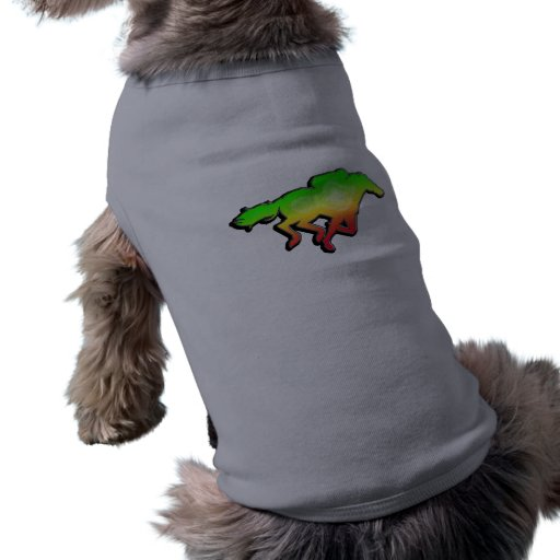 Sleek Horse Racing Pet Shirt