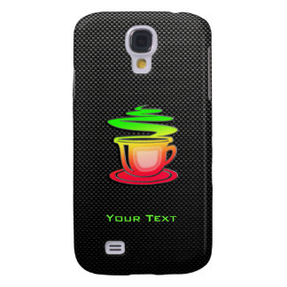 Sleek Hot Coffee Samsung Galaxy S4 Cases