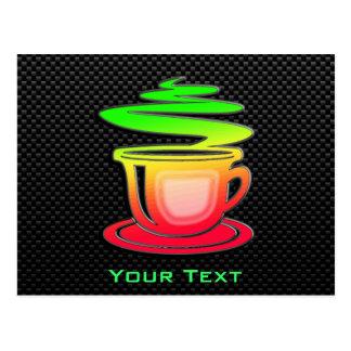 Sleek Hot Coffee Postcard