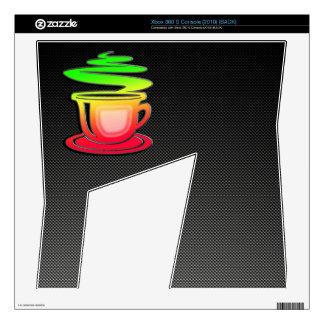 Sleek Hot Coffee Decal For Xbox 360 S