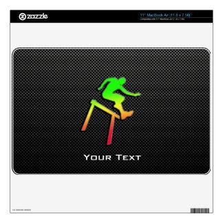 Sleek Hurdler Decal For MacBook Air