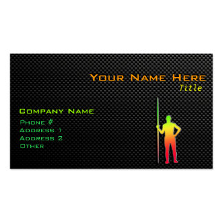 Sleek Javelin Throw Double-Sided Standard Business Cards (Pack Of 100)