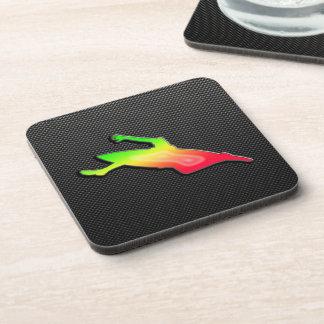 Sleek Kayaking Beverage Coasters