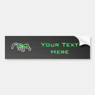Sleek Lizard Bumper Sticker