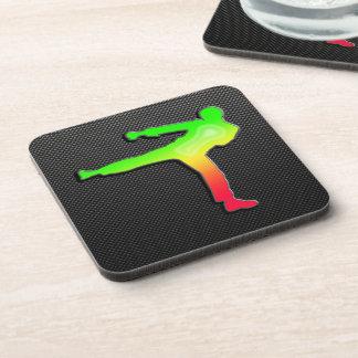 Sleek Martial Arts Drink Coasters