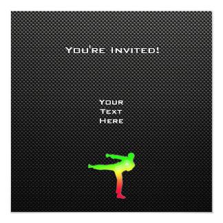 Sleek Martial Arts Personalized Invitation