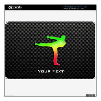 Sleek Martial Arts MacBook Skin