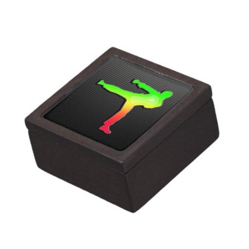 Sleek Martial Arts Premium Keepsake Boxes