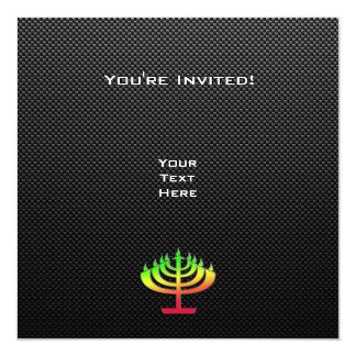 Sleek Menorah Card