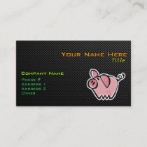 Sleek Pig Business Card