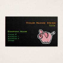 Sleek Pig Business Card