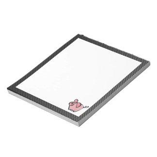 Sleek Pig Memo Note Pad
