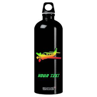 Sleek Plane Aluminum Water Bottle
