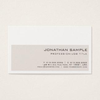 Sleek Professional Creative Elegant Colors Trendy Business Card