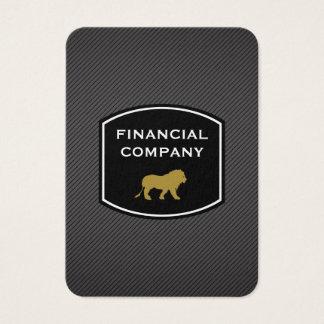 Sleek Professional / Lion Business Card