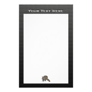 Sleek Raccoon Stationery
