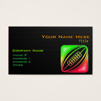 Sleek Rugby Business Card