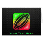 Sleek Rugby Greeting Card