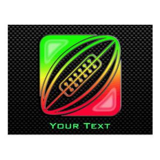 Sleek Rugby Postcard