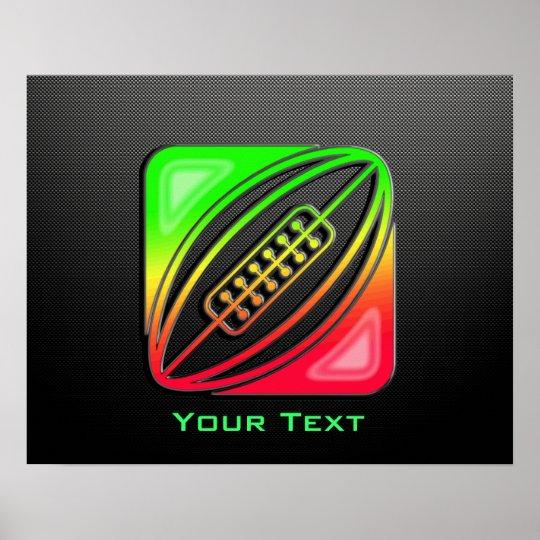 Sleek Rugby Poster